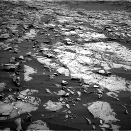 Nasa's Mars rover Curiosity acquired this image using its Left Navigation Camera on Sol 1243, at drive 1174, site number 52