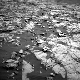 Nasa's Mars rover Curiosity acquired this image using its Left Navigation Camera on Sol 1243, at drive 1192, site number 52