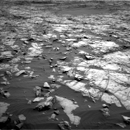 Nasa's Mars rover Curiosity acquired this image using its Left Navigation Camera on Sol 1243, at drive 1216, site number 52
