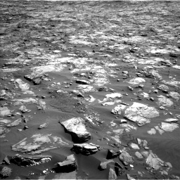 Nasa's Mars rover Curiosity acquired this image using its Left Navigation Camera on Sol 1243, at drive 1282, site number 52