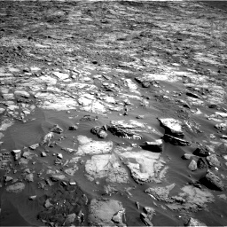 Nasa's Mars rover Curiosity acquired this image using its Left Navigation Camera on Sol 1243, at drive 1288, site number 52