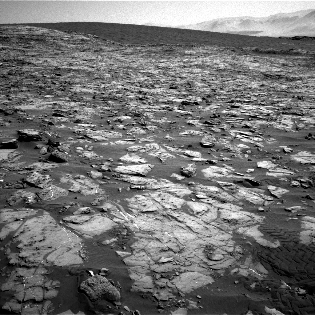 NASA's Mars rover Curiosity acquired this image using its Left Navigation Camera (Navcams) on Sol 1243