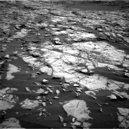Nasa's Mars rover Curiosity acquired this image using its Right Navigation Camera on Sol 1243, at drive 1174, site number 52