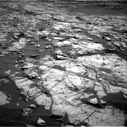 Nasa's Mars rover Curiosity acquired this image using its Right Navigation Camera on Sol 1243, at drive 1180, site number 52