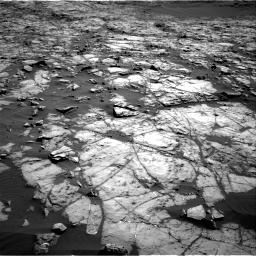 Nasa's Mars rover Curiosity acquired this image using its Right Navigation Camera on Sol 1243, at drive 1186, site number 52