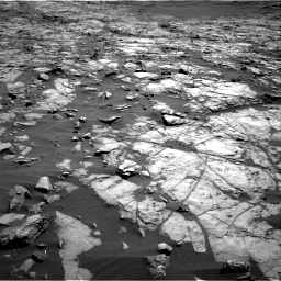 Nasa's Mars rover Curiosity acquired this image using its Right Navigation Camera on Sol 1243, at drive 1204, site number 52