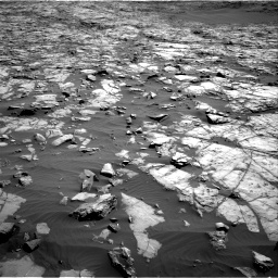 Nasa's Mars rover Curiosity acquired this image using its Right Navigation Camera on Sol 1243, at drive 1216, site number 52