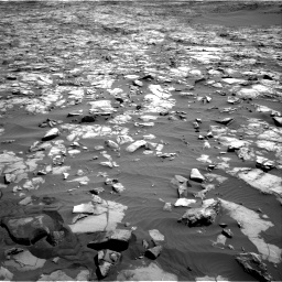Nasa's Mars rover Curiosity acquired this image using its Right Navigation Camera on Sol 1243, at drive 1222, site number 52