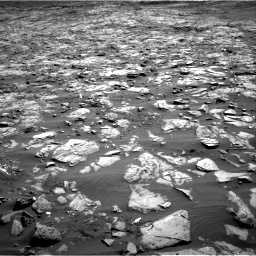Nasa's Mars rover Curiosity acquired this image using its Right Navigation Camera on Sol 1243, at drive 1252, site number 52