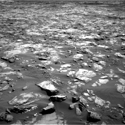 Nasa's Mars rover Curiosity acquired this image using its Right Navigation Camera on Sol 1243, at drive 1264, site number 52