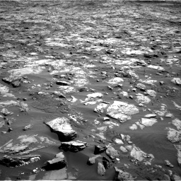 Nasa's Mars rover Curiosity acquired this image using its Right Navigation Camera on Sol 1243, at drive 1270, site number 52