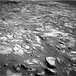 Nasa's Mars rover Curiosity acquired this image using its Right Navigation Camera on Sol 1243, at drive 1282, site number 52