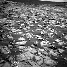 Nasa's Mars rover Curiosity acquired this image using its Left Navigation Camera on Sol 1244, at drive 1360, site number 52