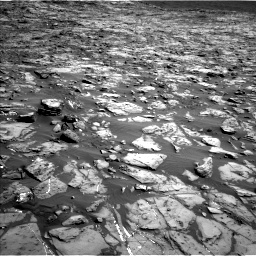 Nasa's Mars rover Curiosity acquired this image using its Left Navigation Camera on Sol 1244, at drive 1366, site number 52