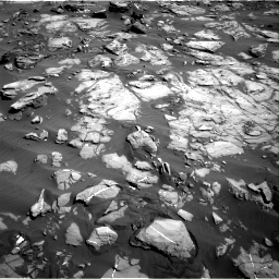 Nasa's Mars rover Curiosity acquired this image using its Right Navigation Camera on Sol 1244, at drive 1312, site number 52