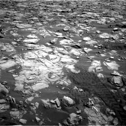 Nasa's Mars rover Curiosity acquired this image using its Right Navigation Camera on Sol 1244, at drive 1324, site number 52