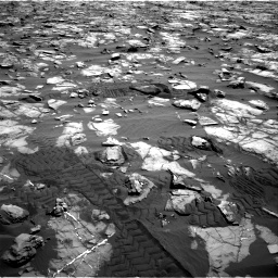 Nasa's Mars rover Curiosity acquired this image using its Right Navigation Camera on Sol 1244, at drive 1336, site number 52