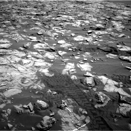 Nasa's Mars rover Curiosity acquired this image using its Right Navigation Camera on Sol 1244, at drive 1342, site number 52