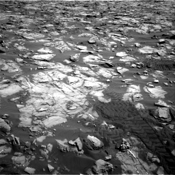Nasa's Mars rover Curiosity acquired this image using its Right Navigation Camera on Sol 1244, at drive 1348, site number 52
