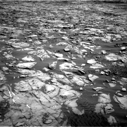 Nasa's Mars rover Curiosity acquired this image using its Right Navigation Camera on Sol 1244, at drive 1354, site number 52