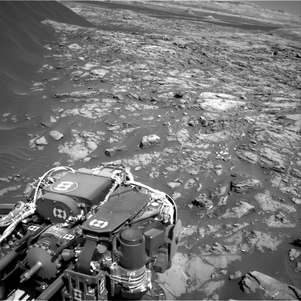 Nasa's Mars rover Curiosity acquired this image using its Right Navigation Camera on Sol 1244, at drive 1370, site number 52