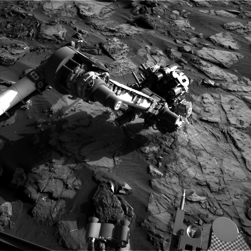 Nasa's Mars rover Curiosity acquired this image using its Left Navigation Camera on Sol 1245, at drive 1370, site number 52