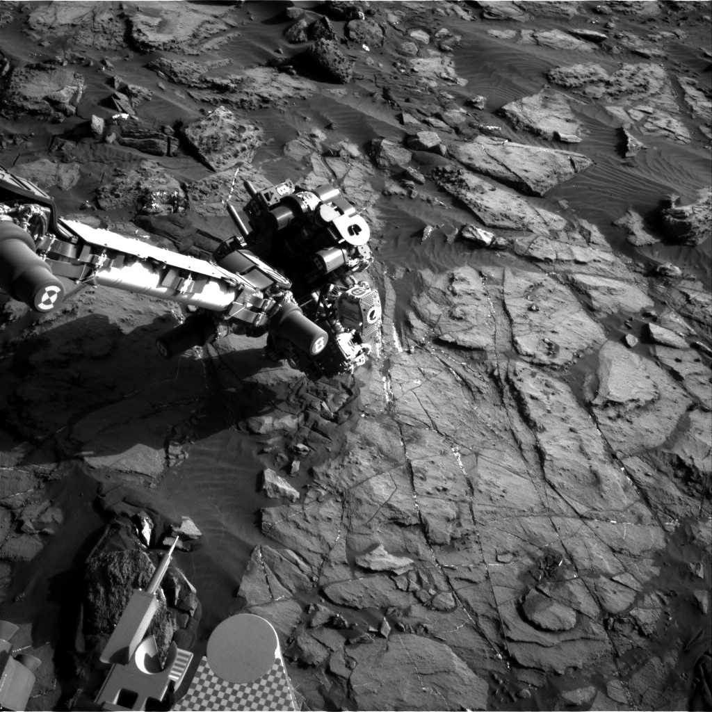 Nasa's Mars rover Curiosity acquired this image using its Right Navigation Camera on Sol 1245, at drive 1370, site number 52