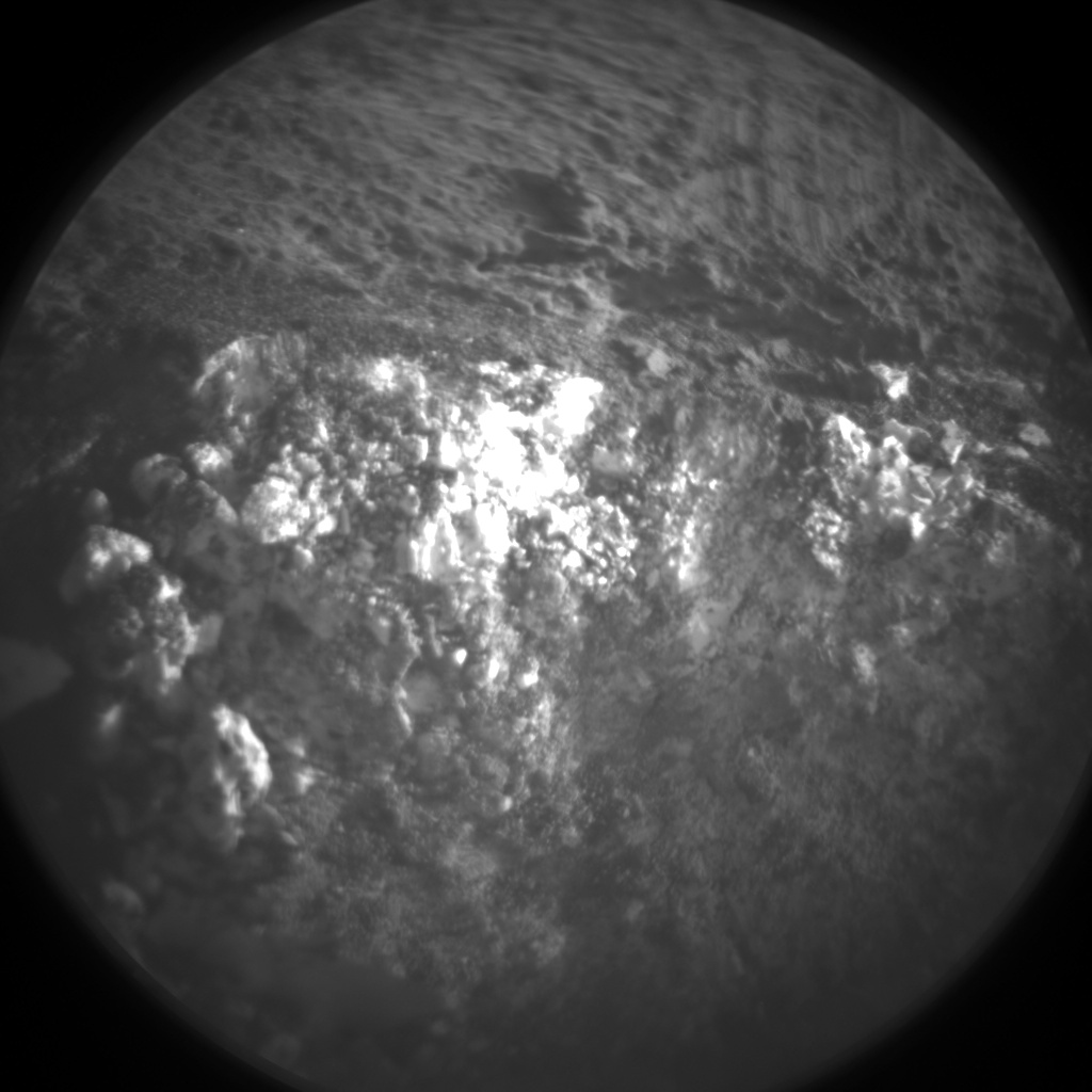 Nasa's Mars rover Curiosity acquired this image using its Chemistry & Camera (ChemCam) on Sol 1246, at drive 1370, site number 52