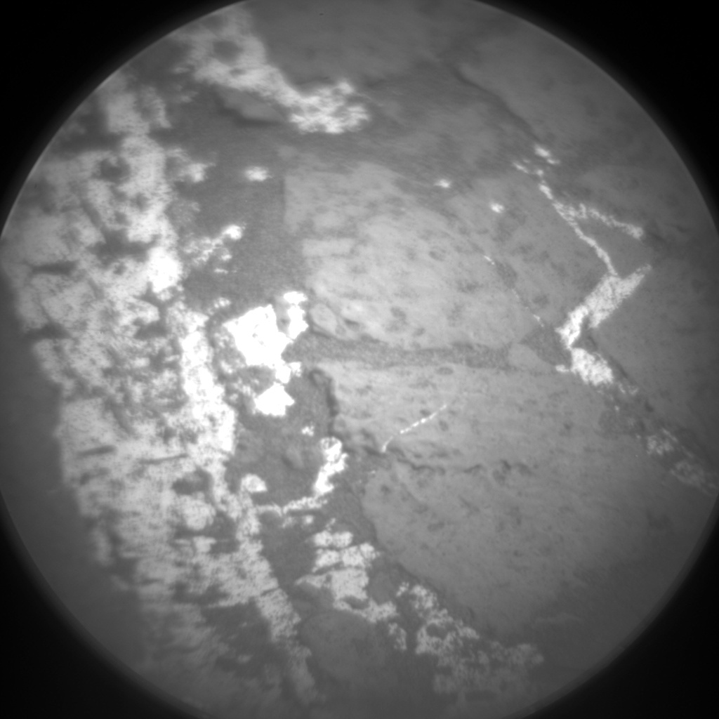 Nasa's Mars rover Curiosity acquired this image using its Chemistry & Camera (ChemCam) on Sol 1248, at drive 1370, site number 52