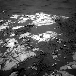 Nasa's Mars rover Curiosity acquired this image using its Left Navigation Camera on Sol 1248, at drive 1388, site number 52
