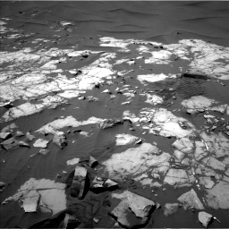 Nasa's Mars rover Curiosity acquired this image using its Left Navigation Camera on Sol 1248, at drive 1400, site number 52