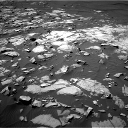 NASA's Mars rover Curiosity acquired this image using its Left Navigation Camera (Navcams) on Sol 1248