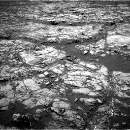 Nasa's Mars rover Curiosity acquired this image using its Left Navigation Camera on Sol 1248, at drive 1478, site number 52