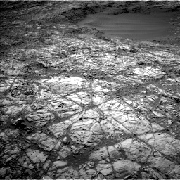 Nasa's Mars rover Curiosity acquired this image using its Left Navigation Camera on Sol 1248, at drive 1538, site number 52
