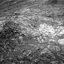 Nasa's Mars rover Curiosity acquired this image using its Left Navigation Camera on Sol 1248, at drive 1574, site number 52