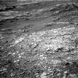 Nasa's Mars rover Curiosity acquired this image using its Left Navigation Camera on Sol 1248, at drive 1610, site number 52