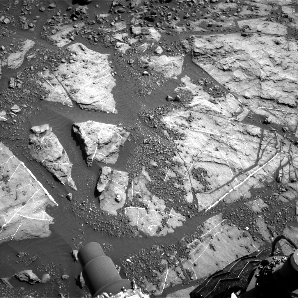 Nasa's Mars rover Curiosity acquired this image using its Left Navigation Camera on Sol 1248, at drive 1722, site number 52