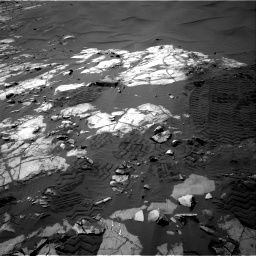 Nasa's Mars rover Curiosity acquired this image using its Right Navigation Camera on Sol 1248, at drive 1376, site number 52