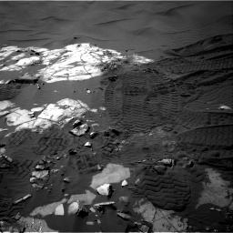 Nasa's Mars rover Curiosity acquired this image using its Right Navigation Camera on Sol 1248, at drive 1382, site number 52