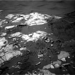 Nasa's Mars rover Curiosity acquired this image using its Right Navigation Camera on Sol 1248, at drive 1388, site number 52