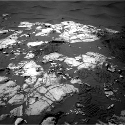 Nasa's Mars rover Curiosity acquired this image using its Right Navigation Camera on Sol 1248, at drive 1394, site number 52