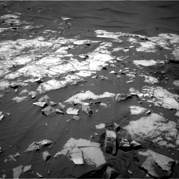 Nasa's Mars rover Curiosity acquired this image using its Right Navigation Camera on Sol 1248, at drive 1406, site number 52