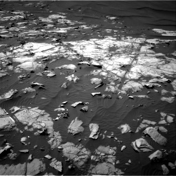 Nasa's Mars rover Curiosity acquired this image using its Right Navigation Camera on Sol 1248, at drive 1424, site number 52