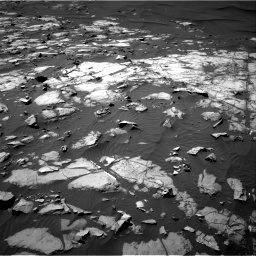 Nasa's Mars rover Curiosity acquired this image using its Right Navigation Camera on Sol 1248, at drive 1430, site number 52