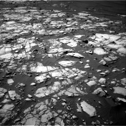 Nasa's Mars rover Curiosity acquired this image using its Right Navigation Camera on Sol 1248, at drive 1448, site number 52