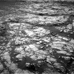 Nasa's Mars rover Curiosity acquired this image using its Right Navigation Camera on Sol 1248, at drive 1484, site number 52