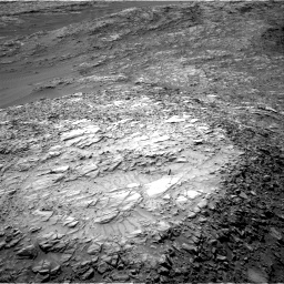 Nasa's Mars rover Curiosity acquired this image using its Right Navigation Camera on Sol 1248, at drive 1592, site number 52