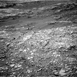 Nasa's Mars rover Curiosity acquired this image using its Right Navigation Camera on Sol 1248, at drive 1616, site number 52