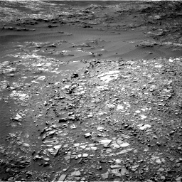 Nasa's Mars rover Curiosity acquired this image using its Right Navigation Camera on Sol 1248, at drive 1622, site number 52