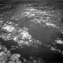 Nasa's Mars rover Curiosity acquired this image using its Right Navigation Camera on Sol 1248, at drive 1640, site number 52